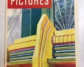 Vintage 1933 Chicago Exposition World's Fair Art Deco souvenir keepsake book