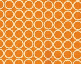 Clearance 1 yard Metro Living Kaufman Fabrics in Tangerine OOP HTF