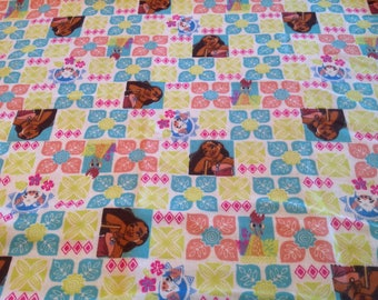 Moana swaddling blanket