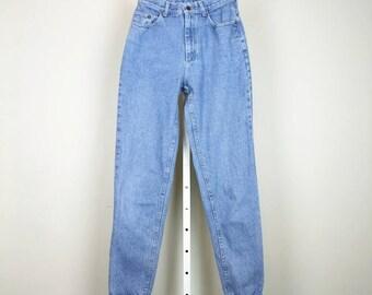 Vintage Jeans Lee Blue High Waist Mom Womens 11 Long S 80s