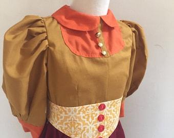Streetcar Girl from Main Street USA Victorian gir's dress
