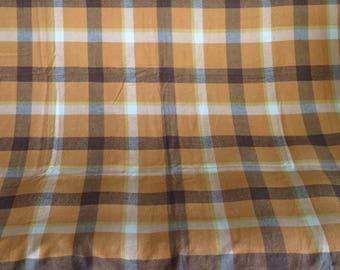 Vintage Simtex Modern Tablecloth Aztec Russel Wright