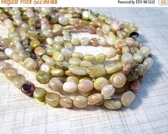20% OFF SALE Mystic Natural Pink Opal Beads Oval 6mm 8mm 10mm,  Pink Slice Oval Beads , Natural Pink Australian Gemstone,