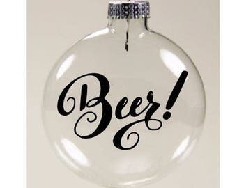 Beer ornament  Etsy