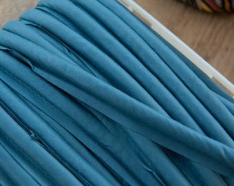 3 yards Blue Piping-  Vintage Trim New Old Stock Upholstery Wide
