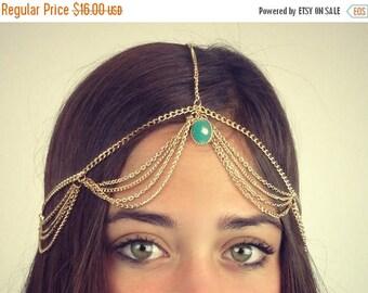 SUMMER SALE CHAIN Headpiece- chain headdress head chain