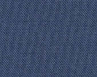 10 oz ORGANIC Cotton Duck Canvas Fabric DENIM BLUE For Home Decor Outerwear Bags