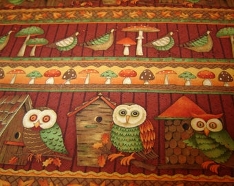 Debbie Mumm Fabric, Fall Forest, Quilt Shops, SSI, OOP