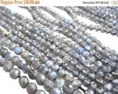 SALE Labradorite Beads, labradorite Faceted Round, 3mm to 3.5mm round labradorite, SKU 2797