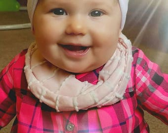 Baby Drool Scarf, Baby Scarf, Baby Scarves, Baby Drool Scarf, Baby Bib Scarf