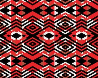 Tribal Print Fabric Etsy