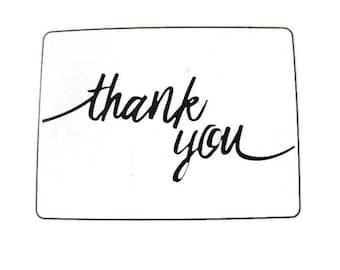 Darice Thank You Embossing Folder