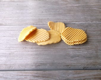 1980's Pretend Food Potato Chips