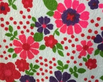 Delicious terry rare vintage fabric