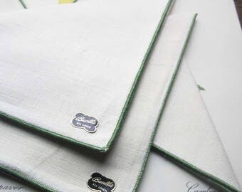 Vintage Bucilla Linens, Vintage Table Linens, Linen Napkins, Set of 4, Quality Vintage Linen, Brunch, Dinner, Weddings, Guests, All Linen