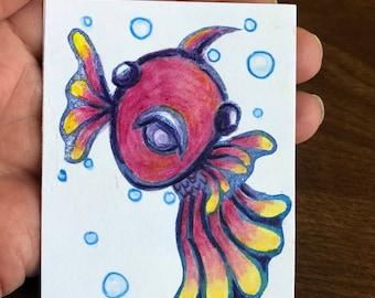Colorful fish #8