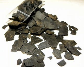 Save25% BULK Slate for paths-walkways-fairy roads and more 1# Bag of assorted pieces of Slate Stone
