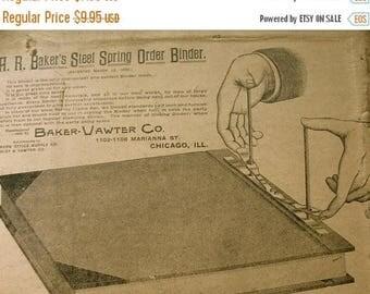 ONSALE BIG SALE 1 Dozen 1800s  Grocery Company  Ledgers