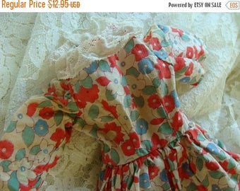 ONSALE Vintage Farmhouse  Handmade Doll Dress 322