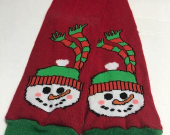 Baby Toddler Child Leg Warmers / Arm Warmers - Upcycled Frosty