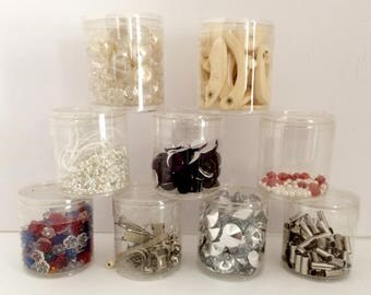 Assortment of Beads & Findings