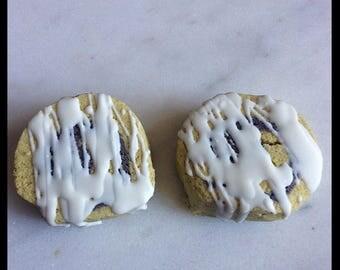 Cinnybuns Bath Truffle - Cinnamon Bun - Bath Truffle - Bath Cookie - Moisturizing Bath Truffle - With Cocoa and Shea Butters