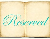 Reserved for Marilyn 25 Custom Mini Book Charms
