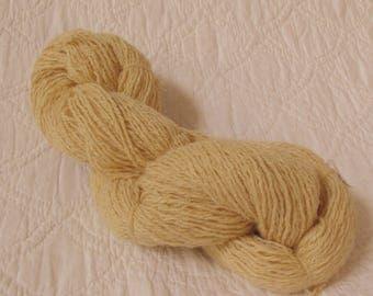 DK weight Silk-Nylon-Angora-Lambswool blend knitting crochet weaving yarn