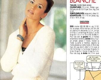 3 Modèles longs au tricot - Tricot sélection 1998