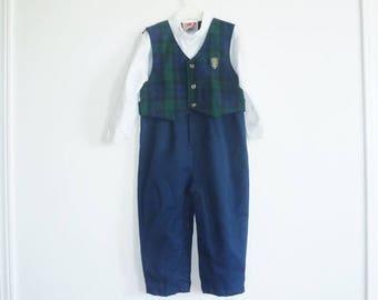 SALE // Vintage Boy's Nautical Outfit