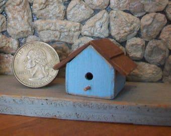 Miniature Bird House 1:12 scale