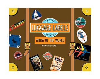 Wings of the World Luggage Labels - Made in the USA