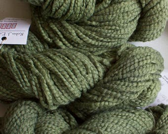 Vireo Cotton,  Hand dyed yarn - Olive
