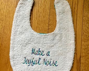 Make a Joyful Noise Baby Bib