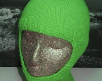 40% OFF SALE Instant Digital File PDF Download knitting pattern only- Balaclava and Beanie pdf knitting pattern