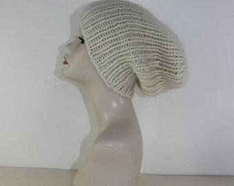 40% OFF SALE madmonkeyknits - Super Chunky Rib Slouch Hat CIRCULAR  knitting pattern pdf download - Instant Digital File pdf knitting patter