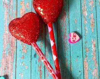 Puff heart pencil no. 6