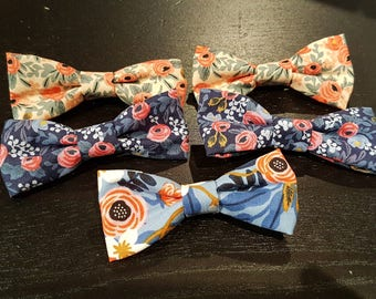 Floral Printed Bows