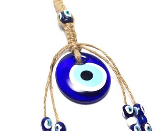 Evil eye Wall Hanging - Protection & Good Luck - Mati - Greek souvenir - Greece