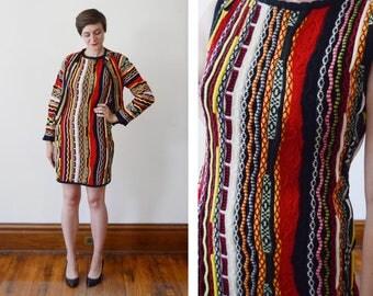 COOGI Vintage Sweater Dress and Cardigan - M