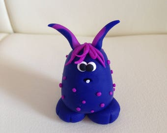 Milton Little Gloops Cute Polymer Clay Monster