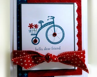 Stampin' Up Hello, Dear Friend Card