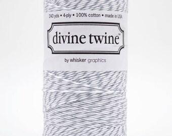 25% Off Summer Sale Full Spool - 240 Yards - Oyster - Grey - Baker's Twine