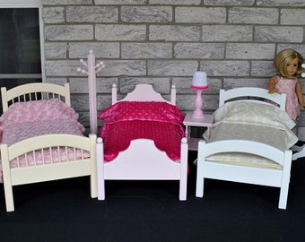 Doll Beds - 3 Styles - 3 Colors