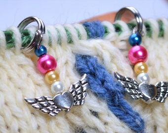 Eternal Sailor Moon Knitting Stitch Markers READY TO SHIP Set of 6