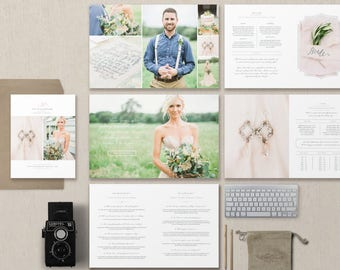 Magazine Template for Photographers & Wedding Planners - Photography Pricing Guide Templates - Digital Price List