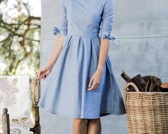 custom dress for Christina Shaw