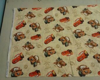 Cars Mater Lightening Mcqueen fabric 249453