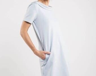 SALE - Blue bridesmaid dress | Short party dress | Sky blue dress | LeMuse blue bridesmaid dress