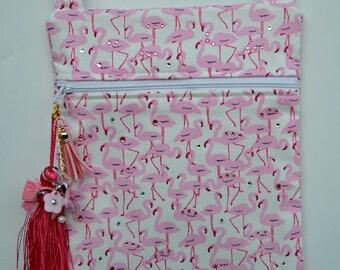 Purse Handbag - Flamingo Purse - Sling Purse - Hipster Purse - Cross Body Purse - Hip Purse - Shoulder Bag